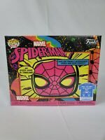 FUNKO POP! & TEE MARVEL SPIDER-MAN BLACK LIGHT BUNDLE - SHIPS NOW