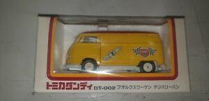 Tomica Dandy Volkswagen T1 delivery van NGK international racing service