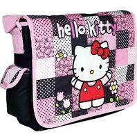 Hello Kitty Messenger Bag Strap Bag School - Pink - Black - Sanrio Backpack
