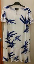 NEW Trent Nathan Flounce hem leaf dress, size 12