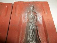 Rubber Mold Lead Civil War Chess Piece Toy Confederate Queen 295
