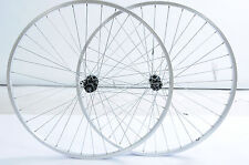 PAIR 700c (622x19)HYBRID TREKKING BIKE WHEELS 8/9 CASSETTE FREEHUB REAR+QR FRONT