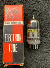1 NOS Raytheon 12AY7 Square Getter Audio Tube USA 1953