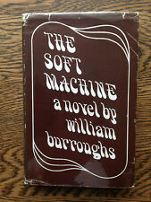 William Burroughs – The Soft Machine (1st/1st UK 1968 hb w dw) Naked Lunch Junky
