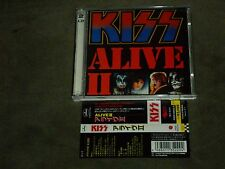 Kiss ‎Alive II Japan Dbl CD