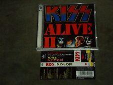 Kiss Alive II Japan Dbl CD