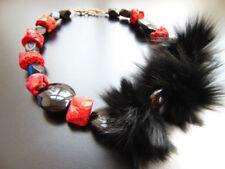 Modeschmuck-Halsketten & -Anhänger aus Edelsteinen Onyx