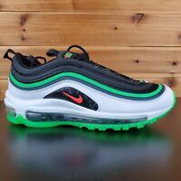Nike Air Max 97 Youth 6.5 Black Green GS CI4427-001