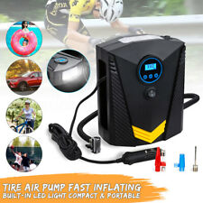 12V 120W 150PSI Electric Car Tyre Inflator Digital Tire Air Compressor Pump