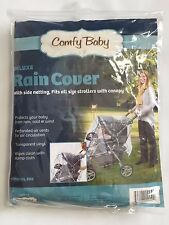 New Comfy Baby Jumbo Stroller Rain Cover Clear Model 950 Transparent Vinyl