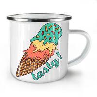 Ice cream Junk Cool NEW Enamel Tea Mug 10 oz | Wellcoda