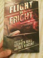 Flight or Fright -Cemetery Dance 1st Edition Stephen King, Ray Bradbury Matheson