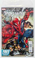 Avenging Spider-Man #1 (2012 Marvel) Feat. Red Hulk, Polybag! Joe Maduriera! NM