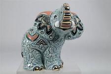 De Rosa Rinconada Family Collection 'Baby Samburu Elephant' NEW #F374 NIB
