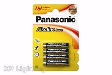 Pack 4 PANASONIC Alkaline Batteries AAA LR03 MN2400 AM4 1.5V (4x AAA Battery)