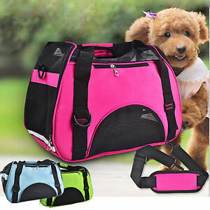 Portable Breathable Pet Puppy Dog Cat Travel Bag Carrier House Kennel Cage Hot