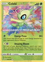 Pokemon - Vivid Voltage - Celebi Amazing Rare - 009/185 - Amazing Rare - NM/M
