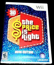 Nintendo Wii Price Is Right: 2010 Edition Game New Sealed