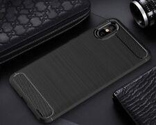 for XIAOMI Mi 8 Pro Case Carbon Fibre GEL Cover Ultra Slim Shockproof