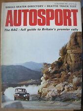 Autosport November 12th 1970 *RAC Rally Preview*