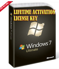 Windows 7 Ultimate _ 32/64-bit Link/product key _ oem - 2 piezas