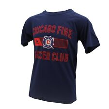 Chicago Fire MLS Official Adidas Kids Youth Size Athletic Shirt New with Tags