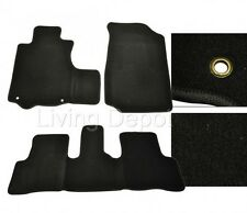Fit For 2007-2011 Honda CR-V 4Dr Floor Mats Carpet Front & Rear Nylon Black 3PC