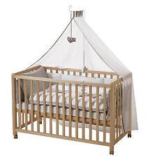 Roba Room Bed Kinderbett Beistellbett Jumbotwins 60x120 cm Holz natur NEU