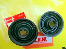 HEADLIGHT HEAD LIGHT BULB RUBBER CAP DUST COVER BOOT SEAL HIGH LOW BEAM PAIR RSX