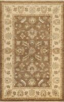4'x6' Floral Classic Peshawar Oriental Hand-knotted Area Rug Wool Kitchen Carpet