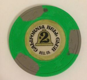 $2 California Bell Club, Bell, CA, Card Room, Stands on Edge, H&C