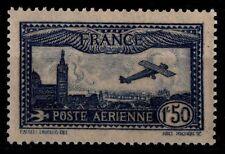P. Aérienne 6 : AVION bleu / Marseille, Neuf * = Cote 47 € / Lot Timbre France