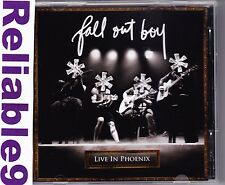 Fall Out Boys - Live in Phoenix CD 15 tracks Picture disc- 2008 Universal Austra
