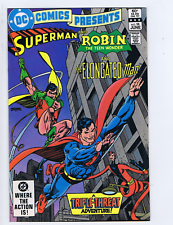 DC Comics Presents #58 DC Pub 1983 the Deadly Touch of the Intangibles !