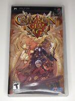 Crimson Gem Saga Sony PSP PlayStation Portable Complete