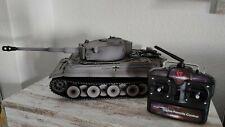 Taigen Tiger 1 RC Panzer 1:16 Metall Edition BB Airbrush Grau 2,4 GHz