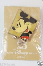 Tokyo Disney Resort 25th Anniversary Pin No.18 Old Mickey Not For Sale JAPAN TDR