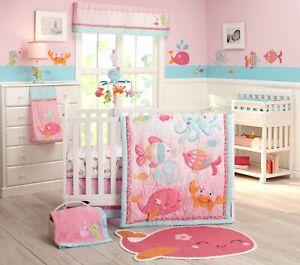 Carter's Sea Life Collection 9pc. (Include Mobile) Crib Bedding Set