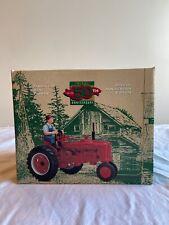 Farmall H Tractor w Farmer 50th Anniversary 1:16 Scale Die Cast ERTL