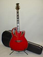 Ovation CC44si Celebrity iDea Mid-Depth Acoustic Electric Guitar w/ Case & Strap