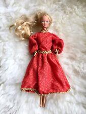 Vintage 1966 Taiwan Mattel Barbie Doll Twist N Turn Clothes Dress Blonde