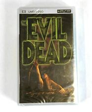 EVIL DEAD (UMD, 2005) BRAND NEW FACTORY SEALED!! Sony PSP Movie Rare