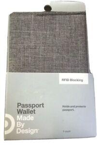 Target Travel Passport Holder Wallet Holder RFID Blocking NEW