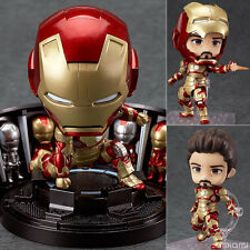 "IRON MAN 3/ NENDOROID MARK 42 10 CM-HERO´S EDITION & HALL OF ARMOR 4"" BOX #349"