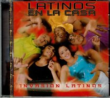 Latinos en La Casa  Invasion Latinos  BRAND  NEW SEALED  CD