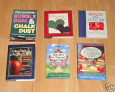 LOT OF 6 BOOKS FOR CHRISTIAN TEACHERS - STORIES AND ENCOURAGEMENT