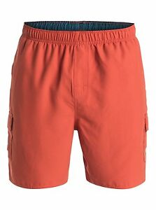 "Quiksilver Waterman Collection Balance6 18"" Swimwear Volley Boardshorts Sz Large"