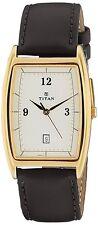 Titan Karishma Analog White Dial Men's Watch -1640YL01
