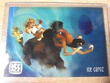 L'AGE DE GLACE ICE AGE RARE CARD IC1 CLEAR TRANSPARENT ICE CARDZ 2002 HERO