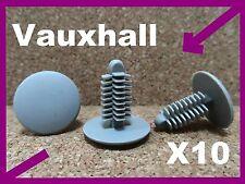 10 Vauxhall maletero Alfombra automática de clips coche Plástico Cierre fijacion